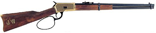 1892 Winchester Lever-Action Carbine Replica, Brass Trim, John Wayne Commemorative Edition