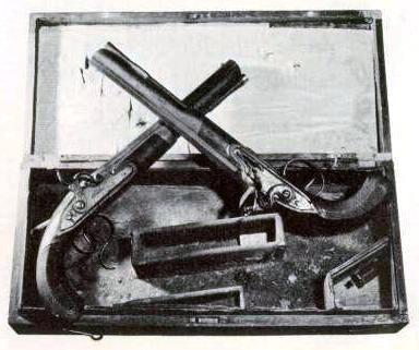 alexander hamilton dueling pistols