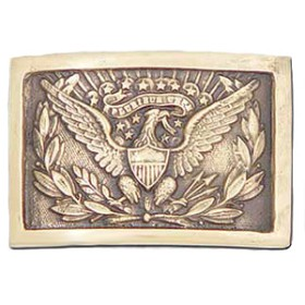 Union Officer's Buckle, Brass