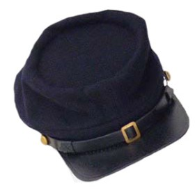 Union Blue enlisted kepi cap