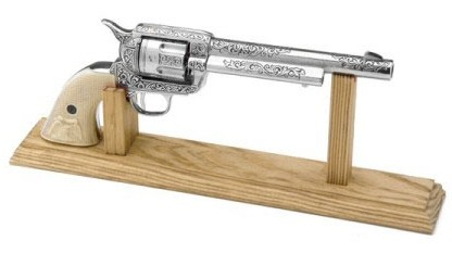 Walker Zombie Killer .357 Magnum, nickel finish
