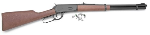 1894 Lever Action Blank-Firing Rifle, blued black finish with European hardwood stock