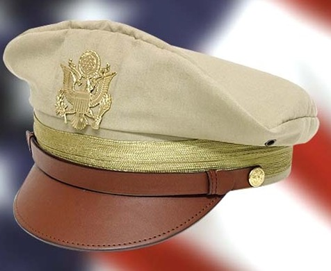 U.S. Officer Crush Cap - no larger photo available