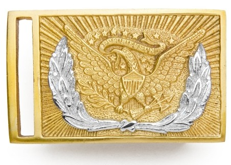 Civil War Union Officer Sword Belt Buckle