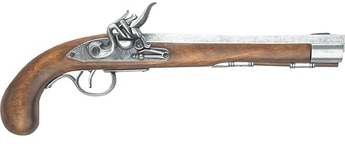 Kentucky Pistol, silver finish
