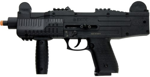 ASI full auto blank-fire SMG, black