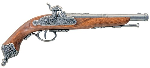 Italian Percussion Cap-fire Dueling Pistol replica