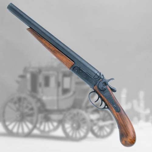 1881 Double-Barrel 'Sawed-Off' Shotgun Pistol