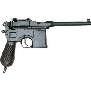 Mauser C-96 Broomstick Machine Pistol