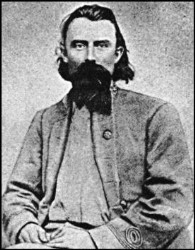 Vintage photo of General Joe Shelby, the only Confederate General who never surrendered.