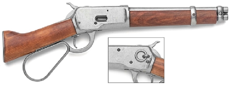 Mares Leg 1892 lever action cut-down rifle, as seen on TV series Wanted Dead or Alive