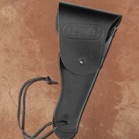 USMC black leather holster for M1911 .45