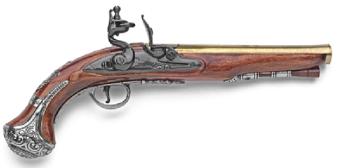 George Washington Hawkins Flintlock Pistol Replica