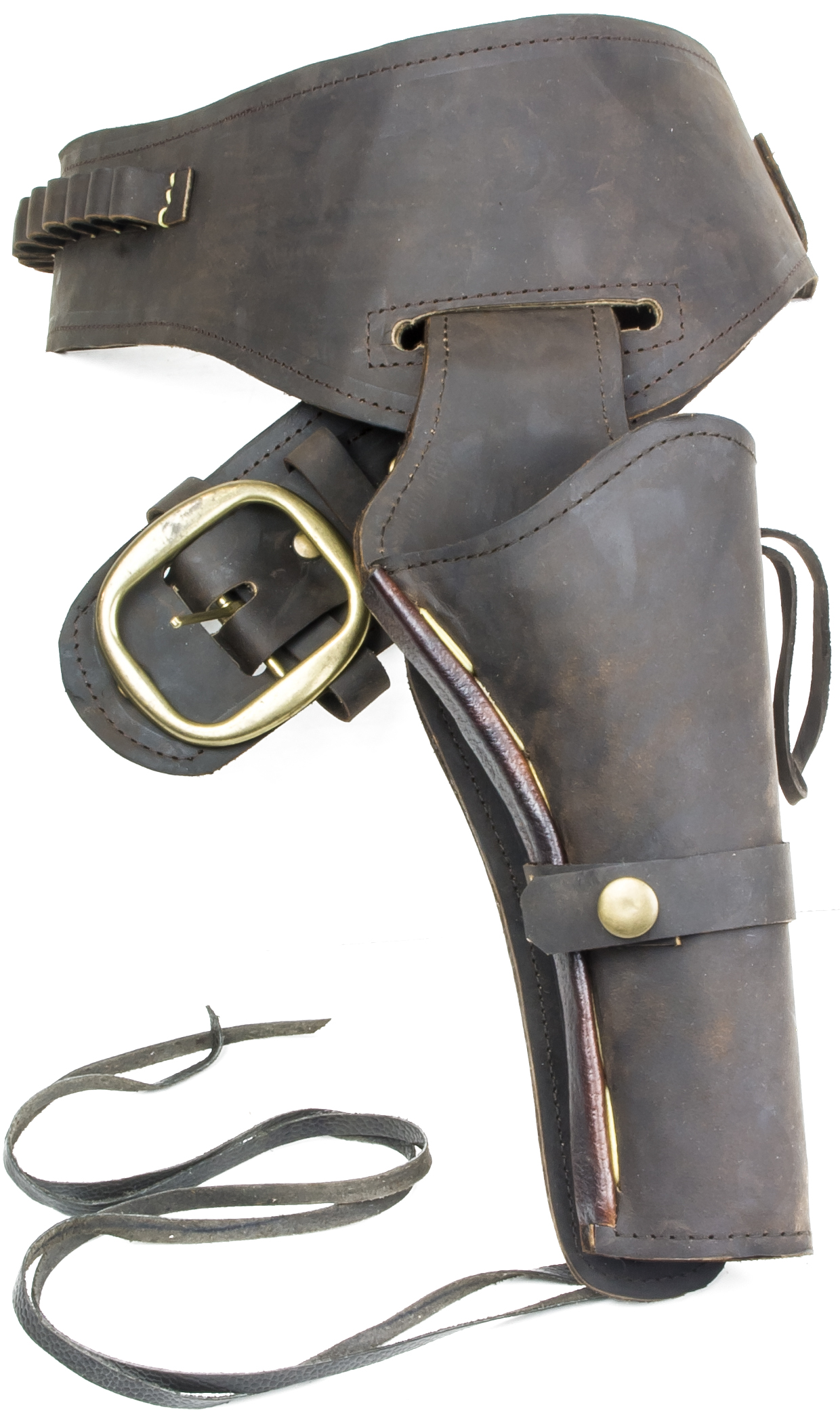 Old West Leather Holsters and Bullwhips